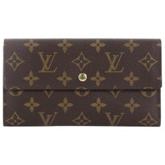 Louis Vuitton Porte Tresor International Wallet Monogram Canvas