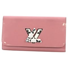 Louis Vuitton Twist Wallet Vernis with Monogram Canvas