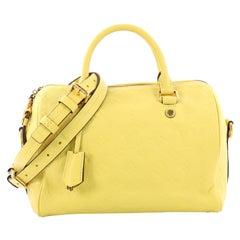 Louis Vuitton Speedy Bandouliere Tasche Monogram Empreinte Leder 25