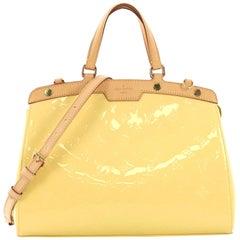 Louis Vuitton Brea Handbag Monogram Vernis MM