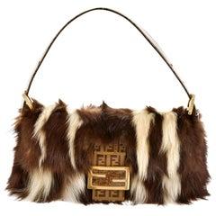 New Rare Fendi Fur Baguette Bag Featured in 15th Anniversary Book