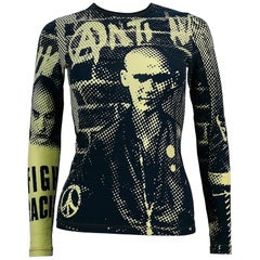 Jean Paul Gaultier Vintage Fight Racism Collection Long Sleeve Shirt