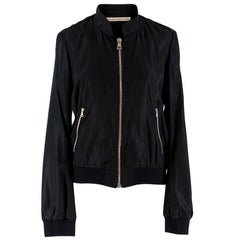 Balenciaga Black Bomber Jacket US 6