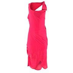 Vivienne Westwood Open-Back Knot Dress US 4