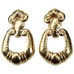 Jose Barrera Corinthian Runway Earrings