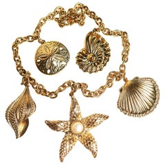 Kenneth Jay Lane Sea Treasures Necklace