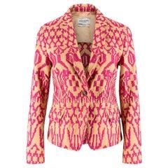 Yves Saint Laurent Vintage Embroidered Blazer US 0-2