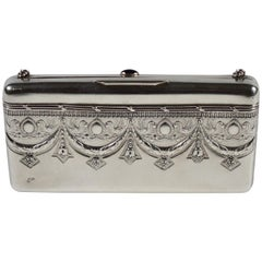 Empire Revival Russian Silver Evening Bag