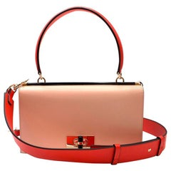 Giorgio Armani Colour Block Leather Handbag 4719d344ad612