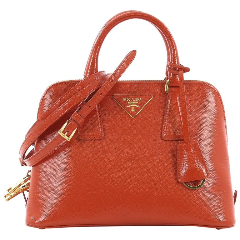 3ef5d4bf7265 Prada Promenade Handbag Vernice Saffiano Leather Small For Sale at ...