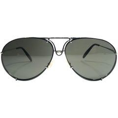 New Vintage Porsche Design By Carrera P1010 Medium Aviator Sunglasses Austria