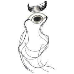 1990s Jean Paul Gaultier Choker, deadstock