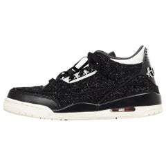 Nike Women's Black Boucle Jordan 3 Retro AWOK Vogue Sneakers Sz 11 W/ Box