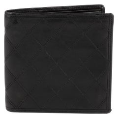 Wallet Chanel Black Lambskin Leather !