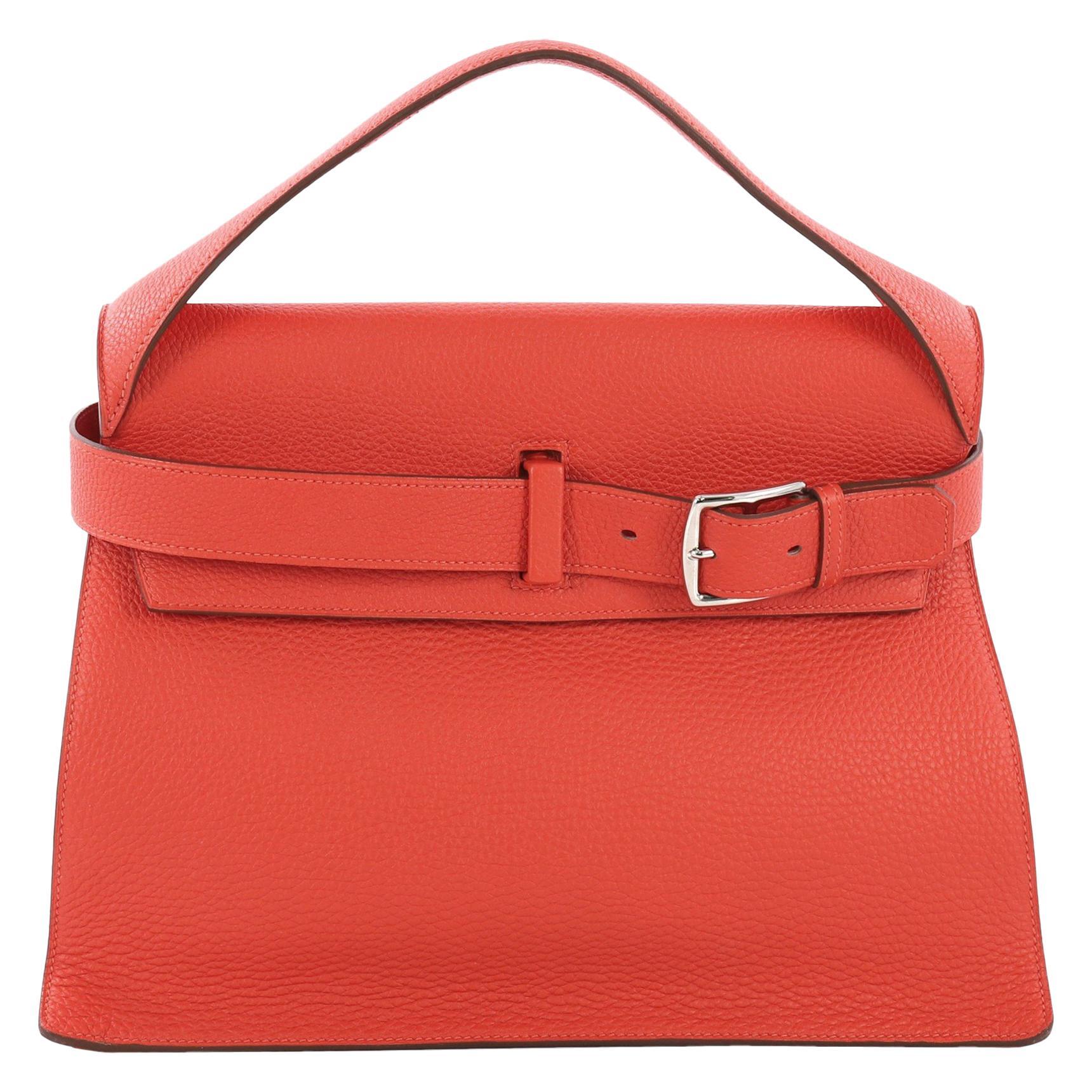 b37bb4f49c Hermes 30cm Red Birkin Bag For Sale at 1stdibs