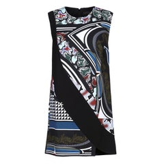 New Versace Abstract Print Multicolor Short Dress It. 44