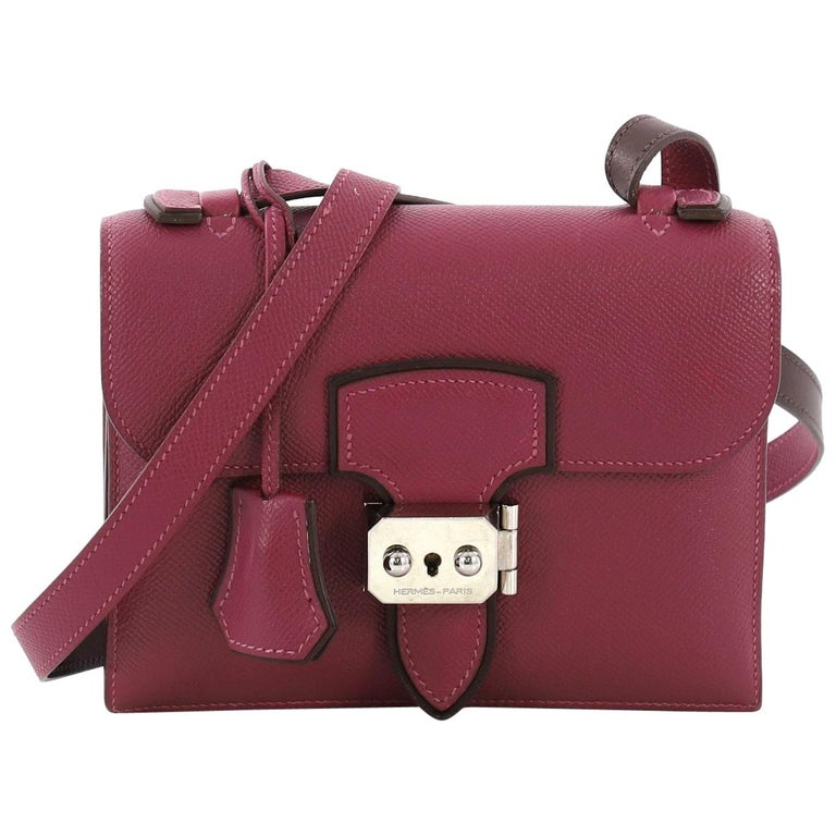 cd871ec401a8 HomeFashionHandbags and PursesCrossbody Bags and Messenger Bags. Hermes  Illico Crossbody Epsom Mini For Sale