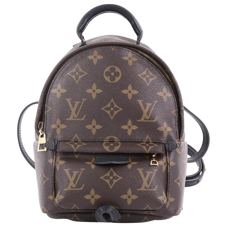 300b27b7afd7 Louis Vuitton Palm Springs Backpack Monogram Canvas Mini For Sale at ...