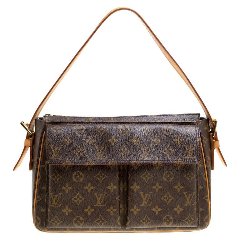 ec0493262d74 Louis Vuitton Monogram Canvas Viva Cite GM Bag For Sale at 1stdibs