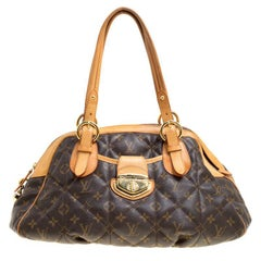 Louis Vuitton Monogram Canvas Etoile Bowling Tasche