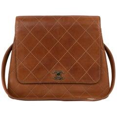 Handbag Chanel  Vintage in Beige lambskin !