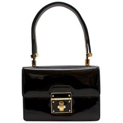 Dolce & Gabbana patent leather top handle bag