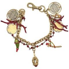 Dolce & Gabbana Charms Bracelet Sicily series