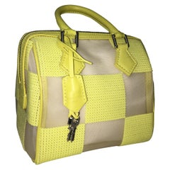Louis Vuitton Speedy bag chess with sequins, Yellow