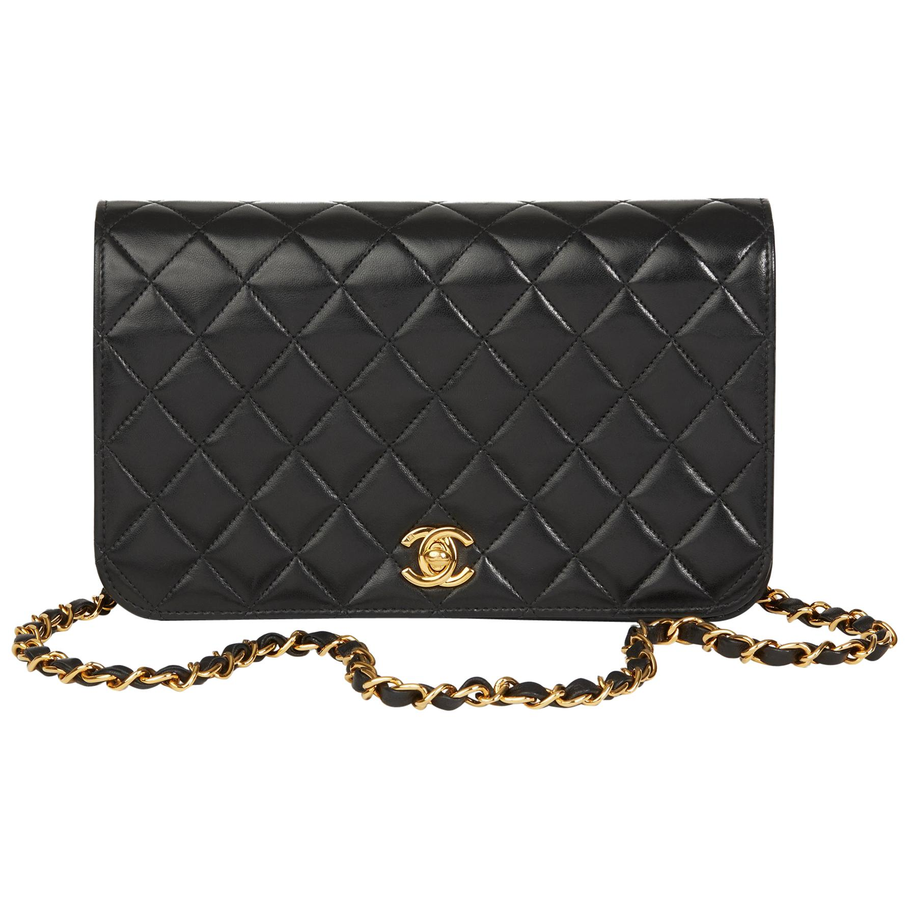 23a37ed3787b CHANEL Black Caviar Maxi Single Flap with Gold Hardware 2009 For Sale at  1stdibs