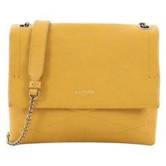 Lanvin Sugar Flap Shoulder Bag Quilted Leather Mini