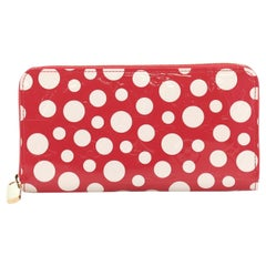Louis Vuitton Zippy Wallet Monogram Vernis Kusama Infinity Dots