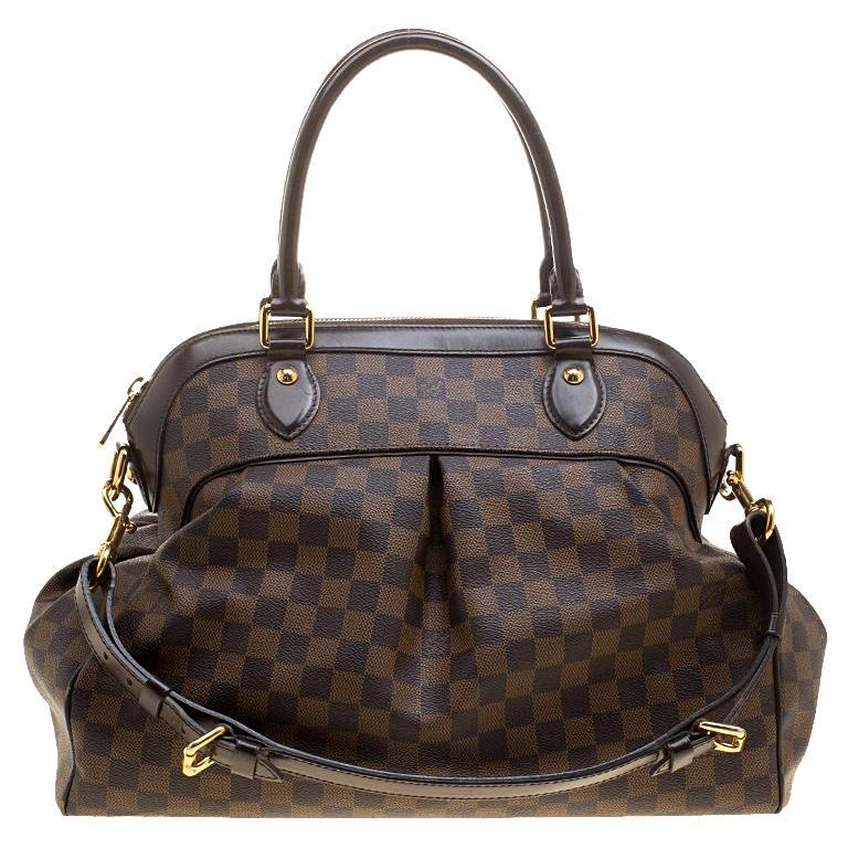 519eb288d212 Louis Vuitton Damier Ebene Canvas Trevi GM Bag For Sale at 1stdibs