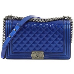 f97c2dd386bf Chanel Coco Boy Camera Bag Quilted Leather Large at 1stdibs