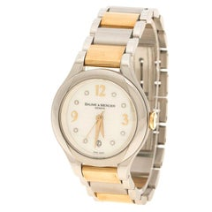 Baume & Mercier Mother of Pearl Capped Stainless Steel Women's Wristwatch 30 mm