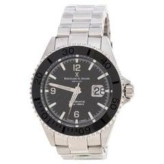 Bernhard H. Mayer Stainless Steel Nauticu Limited Edition Austro Wristwatch 45mm