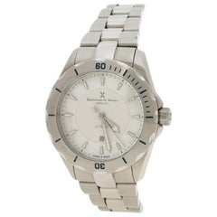 Bernhard H Mayer White Mother of Pearl Stainless Steel Ballad Women's Wristwatch