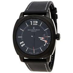 Bernhard H Mayer Black Stainless Steel IL Nero Men's Wristwatch 44 mm