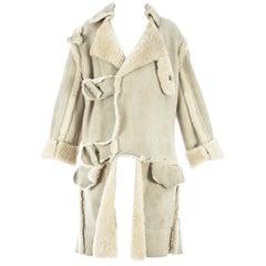 Worlds End Vivienne Westwood 'Nostalgia of Mud' sheepskin coat, A/W 1982