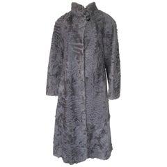 Broadtail Lamb fur coat