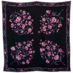 Vintage 1960s silk scarf by Emilio Pucci