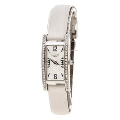 Balmain Silver White Stainless Steel and Diamond 2191 Women's Wristwatch 18 mm