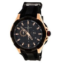 Bernhard H. Mayer Rose Gold PlatedSteel Victor Chronograph Men's Wristwatch 50mm