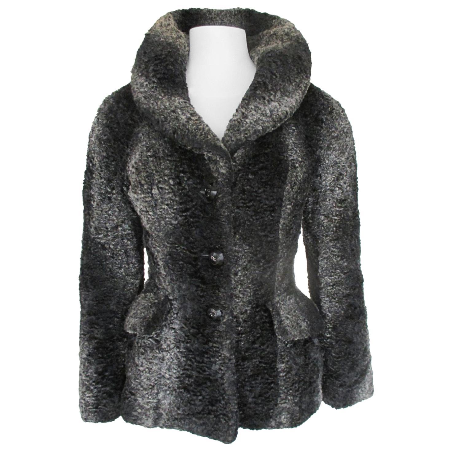 Dolce & Gabbana Faux Fur Jacket small