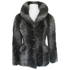 Dolce & Gabbana faux fur jacket small