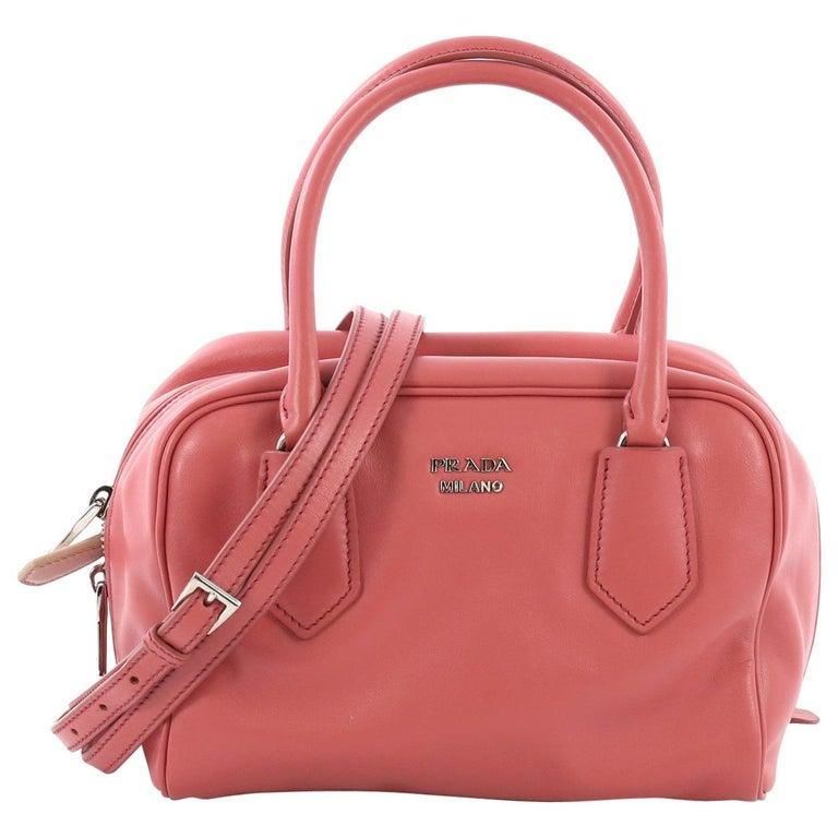 1cdf7da0b5e117 Prada Inside Bauletto Bag Soft Calfskin Small For Sale at 1stdibs