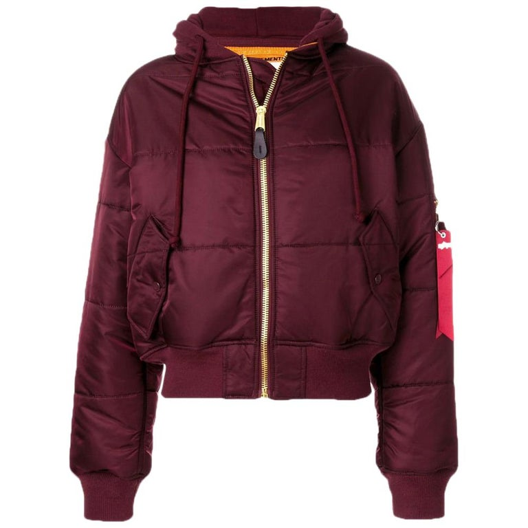 a1b8c6e9a Vetements X Alpha Industries Reversible Cropped Bomber Jacket