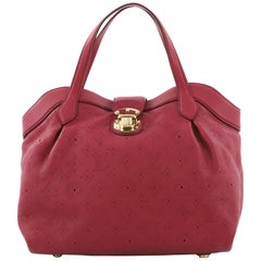 Louis Vuitton Cirrus Handbag Mahina Leather PM