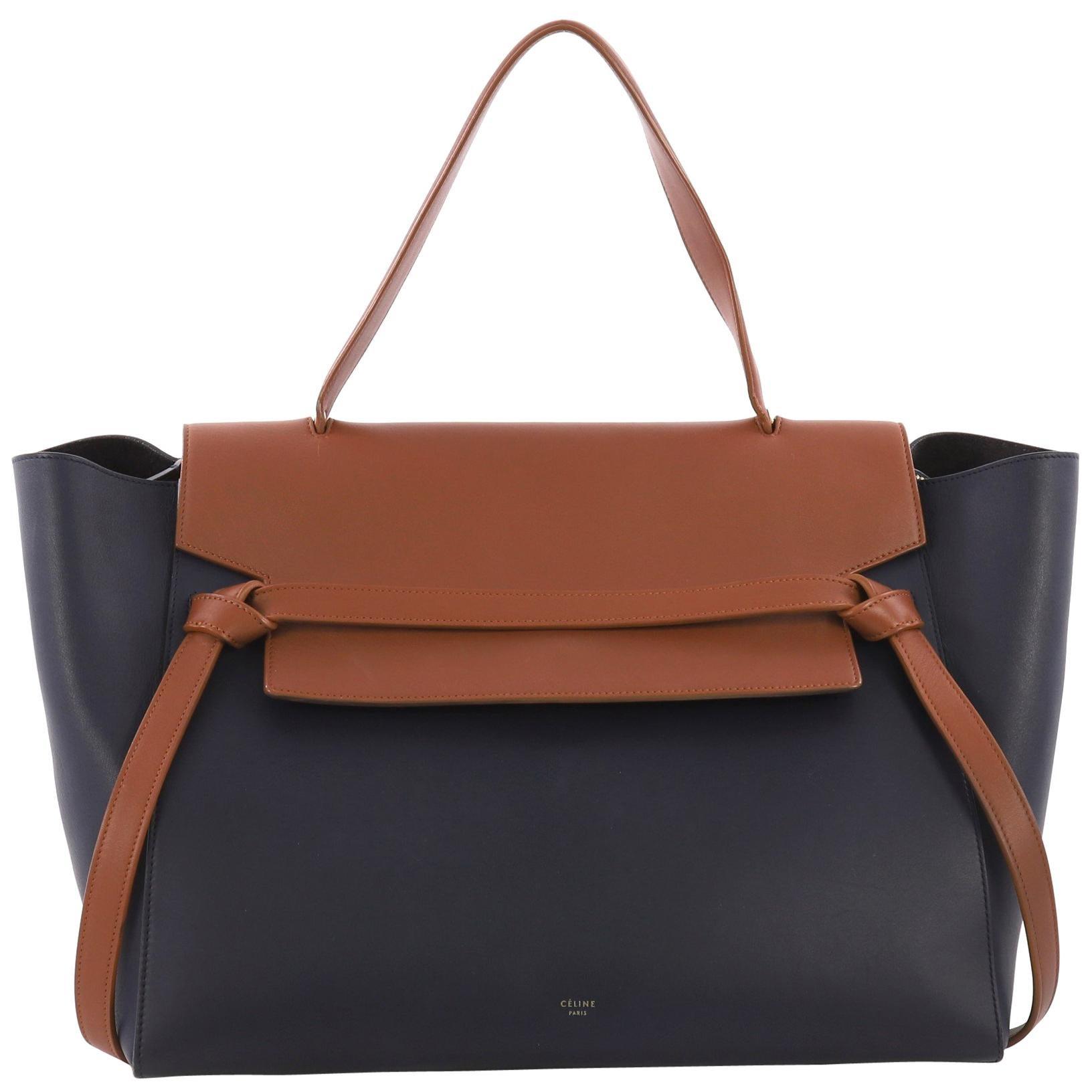 35c32b5822dd Celine Leather Handbags - 113 For Sale on 1stdibs