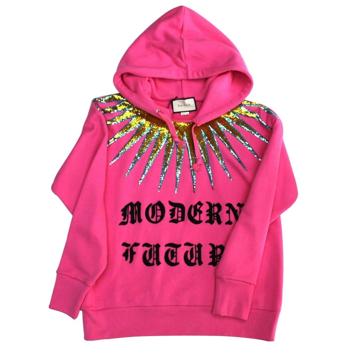 9fcd7aa0edb Gucci Men s Red GucciGhost Sweatshirt Sz L For Sale at 1stdibs