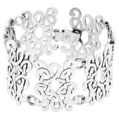 Brillanti Sterling Silver Bracelet and Earrings Set